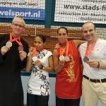 Shaolin Kungfu Apeldoorn wint 6 medailles
